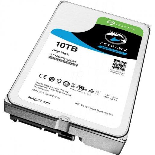 ST10000VX0004 Жесткий диск SeagateSkyHawk HDD 10TB ST10000VX0004 Накопители видеоархива Жесткие диски, 8950.00 грн.