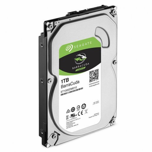 ST1000DM010 Жесткий диск Seagate BarraCuda HDD 1TB ST1000DM010 Накопители видеоархива Жесткие диски, 1196.00 грн.