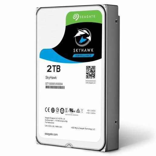 ST2000VX008 Жесткий диск SeagateSkyHawk HDD 2TB ST2000VX008 Накопители видеоархива Жесткие диски, 1960.00 грн.