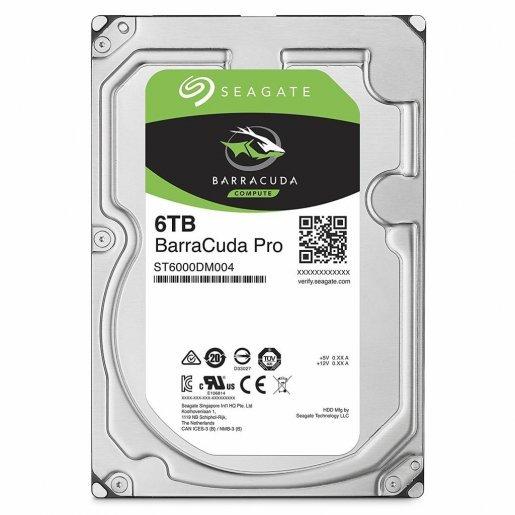 ST6000DM004 Жесткий диск Seagate BarraCuda Pro HDD 6TB ST6000DM004 Накопители видеоархива Жесткие диски, 6959.00 грн.
