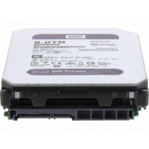 WD81PURZ Жесткий диск WesternDigital Purple 8TB WD81PURZ Накопители видеоархива Жесткие диски, 7227.00 грн.