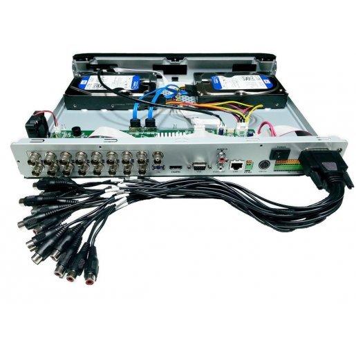 DS-7216HQHI-F2/N Видеорегистратор Hikvision DS-7216HQHI-F2/N (1080p 16 audio) Регистраторы DVR аналоговые видеорегистраторы, 7980.00 грн.