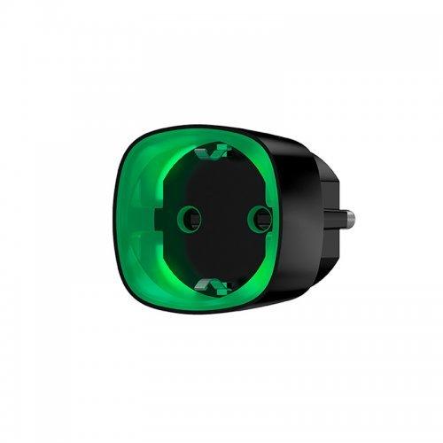 Socket Ajax Socket – Радиоуправляемая розетка со счетчиком энергопотребления – черная Сигнализация AJAX Модули Ajax, 1099.00 грн.