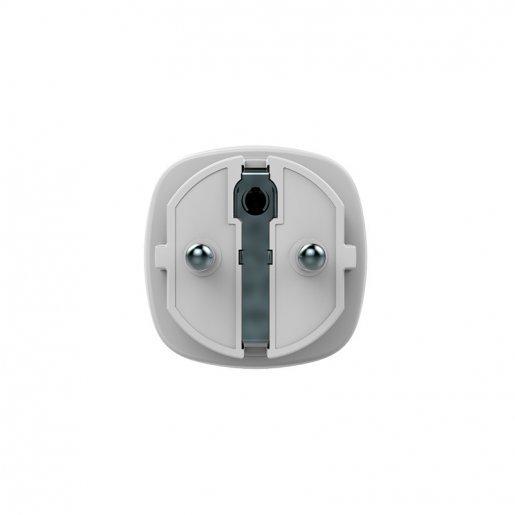 Socket Ajax Socket – Радиоуправляемая розетка со счетчиком энергопотребления – белая Сигнализация AJAX Модули Ajax, 1099.00 грн.