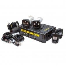 KIT-3MP-2CC Комплект видеонаблюдения на 2 камеры 3 Мп Готовые комплекты Аналоговые комплекты видеонаблюдения, 2300.00 грн.