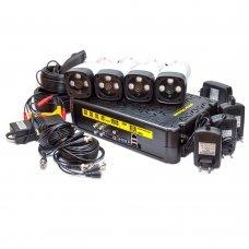 KIT-3MP-4CC Комплект видеонаблюдения на 4 камеры 3 Мп Готовые комплекты Аналоговые комплекты видеонаблюдения, 3240.00 грн.