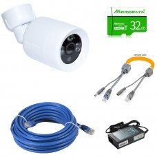 IPKIT-2MP-232 Комплект видеонаблюдения на 1 IP камеру 2 Мп Готовые комплекты Цифровые (IP) комплекты видеонаблюдения, 1620.00 грн.