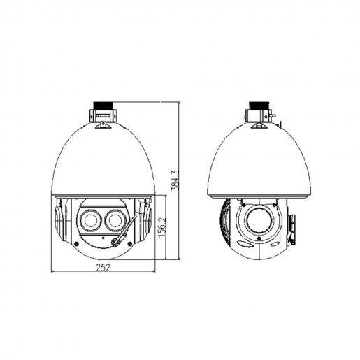 Роботизированная (Speed Dome) IP-камера Dahua DH-SD6AL240-HNI Камеры IP камеры, 61600.00 грн.