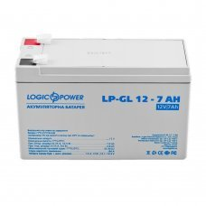 Аккумулятор LogicPower 12V 7AH (12-7AH) Комплектующие Аккумуляторы 12В, 281.00 грн.