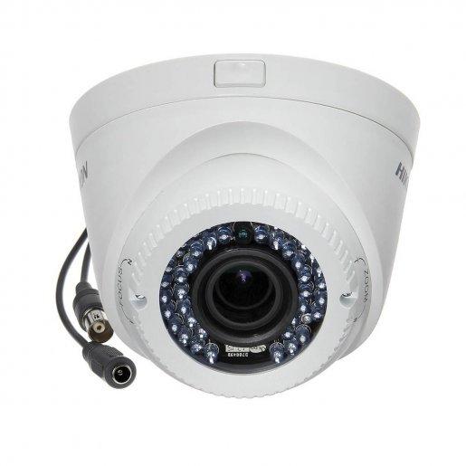 Купольная Turbo HD видеокамера Hikvision DS-2CE56D1T-VFIR3 (2.8-12) Камеры Аналоговые камеры, 2501.00 грн.