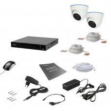 Комплект видеонаблюдения Tecsar AHD 2IN 8MEGA Готовые комплекты Аналоговые комплекты видеонаблюдения, 9991.00 грн.