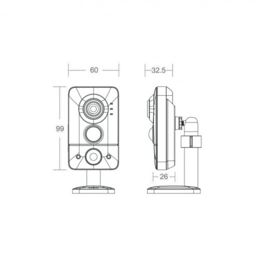 AC-D7121IR1v2 Внутренняя IP-камера ActiveCAM AC-D7121IR1v2 Камеры IP камеры, 2596.00 грн.