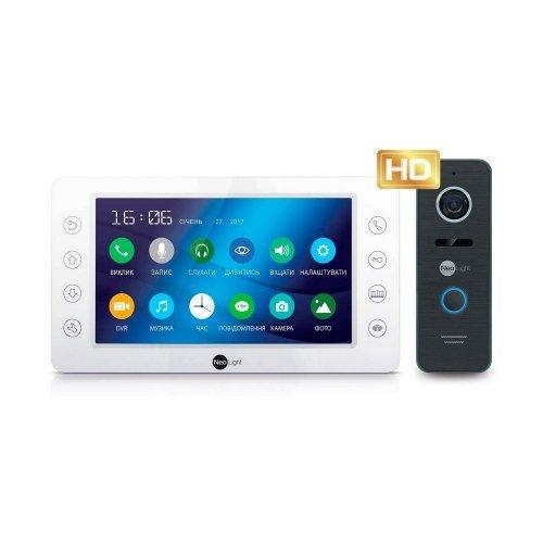 Комплект видеодомофона Neolight KAPPA+FHD Готовые комплекты домофонов Аналоговые комплекты, 5435.00 грн.