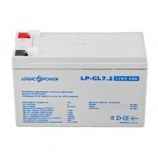 Аккумулятор LogicPower LP-GL 12V 7,2AH (LP-GL 12 - 7,2 AH) Комплектующие Аккумуляторы 12В, 495.00 грн.