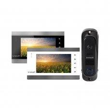 IM-12+ Комплект видеодомофона Intercom IM-12 Готовые комплекты домофонов Аналоговые комплекты, 3632.00 грн.