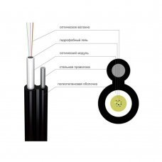 Оптический кабель Finmark UT004-SM-18 на стальной проволоке Кабельная продукция Оптический кабель, 9.00 грн.