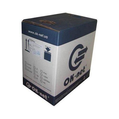 Кабель КППЭт-ВП (100) 4*2*0,51 (FTP-cat.5E), OK-net, (СU), Out на стальной жиле-проводе (305 м) Кабельная продукция Витая пара, 4955.00 грн.