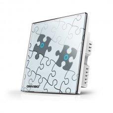 Умный сенсорный выключатель ORVIBO OR-T020-S2 puzzle (английский стандарт) Умный дом Выключатели, 583.00 грн.