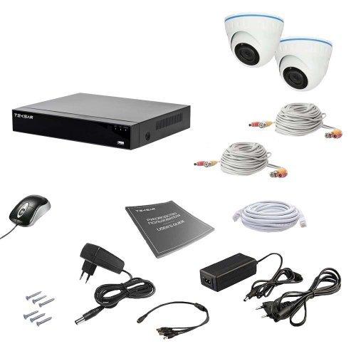 Комплект видеонаблюдения Tecsar AHD 2IN 5MEGA Готовые комплекты Аналоговые комплекты видеонаблюдения, 5500.00 грн.