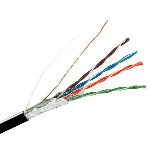 Кабель, витая пара, FinMark FTP CAT 5E 4*2*0.51mm, Медь, Out Кабельная продукция Витая пара, 12.00 грн.