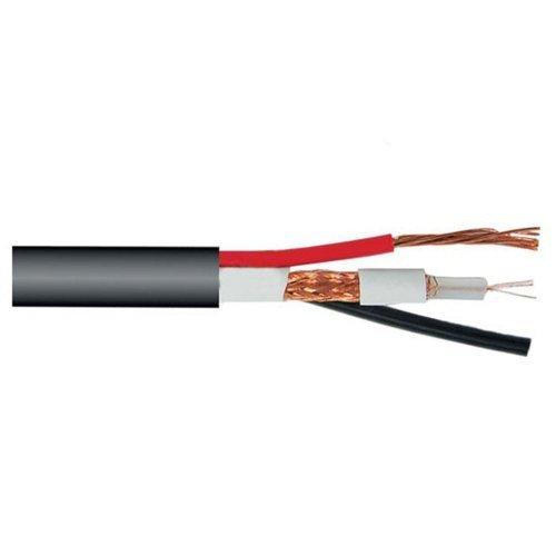 Кабель комбинированный, КВК-П-2+2х0,5 (RG-59+2*0,44mm,) Медь, Out Одескабель Кабельная продукция Коаксиальный кабель, 14.00 грн.