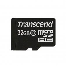 Карта памяти Transcend MicroSDHC 32GB Class 10 (TS32GUSDC10) Накопители видеоархива SD-карты, 439.00 грн.