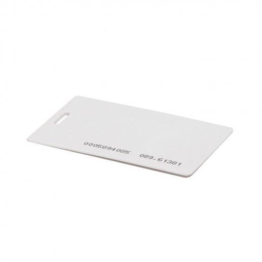 Набор 50 шт. Бесконтактная карта Tecsar Trek EM-Marine 1,6 мм белая с прорезью Периферия Электронные ключи, 756.00 грн.