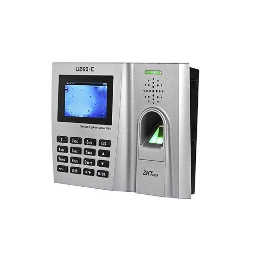 Биометрический терминал Zkteco U260-C Биометрия Учет рабочего времени, 10070.00 грн.