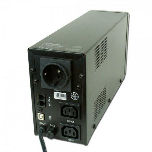 ИБП EnerGenie 850VA, LCD, USB, Pro EG-UPS-032 Комплектующие ИБП 220В, 1799.00 грн.