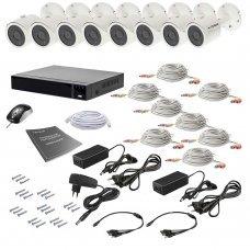Комплект видеонаблюдения Tecsar AHD 8OUT 8MEGA Готовые комплекты Аналоговые комплекты видеонаблюдения, 25440.00 грн.