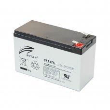 Аккумуляторная батарея RITAR AGM RT1275 12V 7.5Ah Комплектующие Аккумуляторы 12В, 424.00 грн.