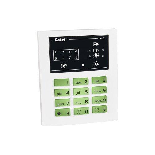 Проводная светодиодная клавиатура Satel СА-6 KLED-S Периферия Модули, 822.00 грн.