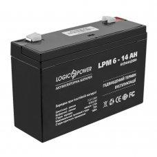 Аккумулятор LogicPower LP 6V 14AH (LP 6-14 AH) Комплектующие Аккумуляторы 12В, 379.00 грн.