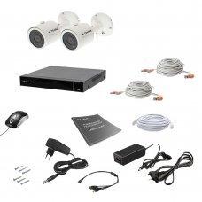 Комплект видеонаблюдения Tecsar AHD 2OUT 8MEGA Готовые комплекты Аналоговые комплекты видеонаблюдения, 9991.00 грн.