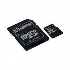 Карта памяти Kingston MicroSDHC 16GB Class 10 UHS-I + SD адаптер (SDC10G2/16GB) Накопители видеоархива SD-карты, 119.00 грн.