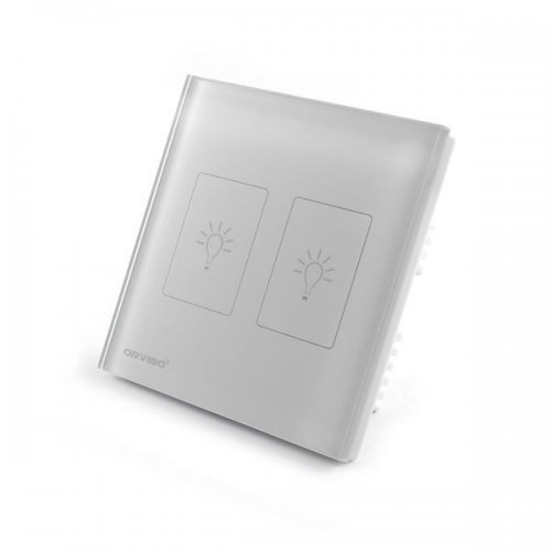 Умный сенсорный выключатель ORVIBO OR-RF-T9-02SD-W (английский стандарт) Умный дом Выключатели, 583.00 грн.