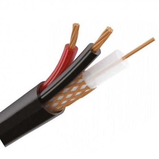 Кабель комбинированный, КВК-П-2+2х0,75 (RG-690+2*0.75mm,) Медь, Out Одескабель Кабельная продукция Коаксиальный кабель, 15.00 грн.