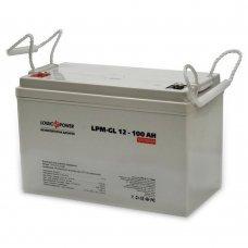 Аккумулятор LogicPower LPM-GL 12V 100AH (LPM-GL 12 - 100 AH) Комплектующие Аккумуляторы 12В, 6228.00 грн.
