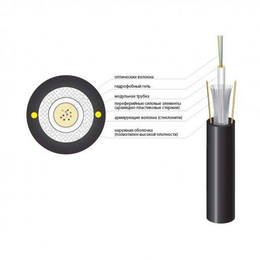 Оптический кабель Finmark UT002-SM-15, ADSS Кабельная продукция Оптический кабель, 6.00 грн.