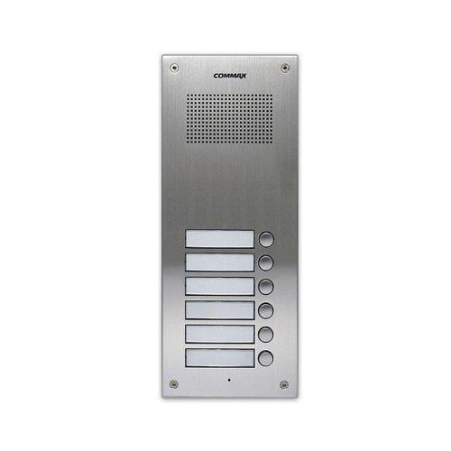 DR-6UM Многоабонентская вызывная аудиопанель Commax DR-6UM Вызывные панели Аналоговые панели, 1420.00 грн.