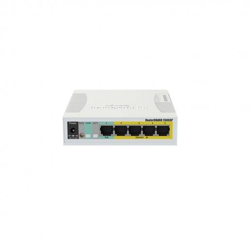 Коммутатор Mikrotik RB260GSP Сетевое оборудование Коммутаторы, 1549.00 грн.