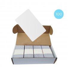 Набор 100 шт. Бесконтактная карта Tecsar Trek Mifare Classic 1K 0,8 мм белая Периферия Электронные ключи, 1378.00 грн.