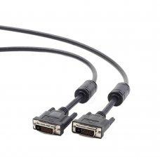 Кабель DVI-DVI 1.8м Cablexpert CC-DVI2-BK-6 Кабельная продукция Дата кабели, 235.00 грн.