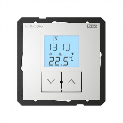 Регулятор температуры iNELS RFTC-50/G Умный дом Управление климатом, 4002.00 грн.