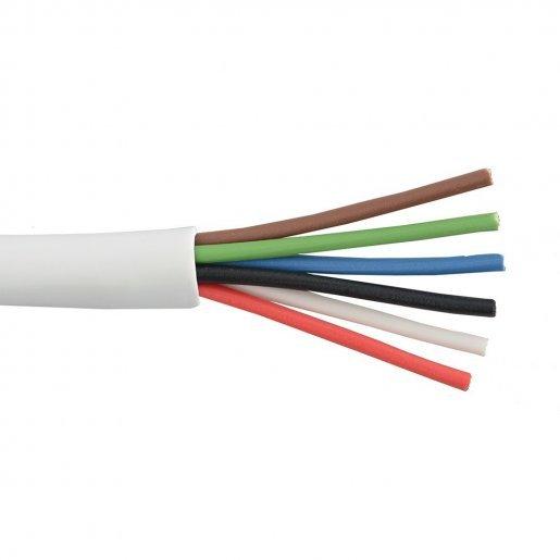 Кабель сигнальный, 6*0.22mm, НЕ экран, Биметалл Кабельная продукция Сигнальный кабель, 4.00 грн.
