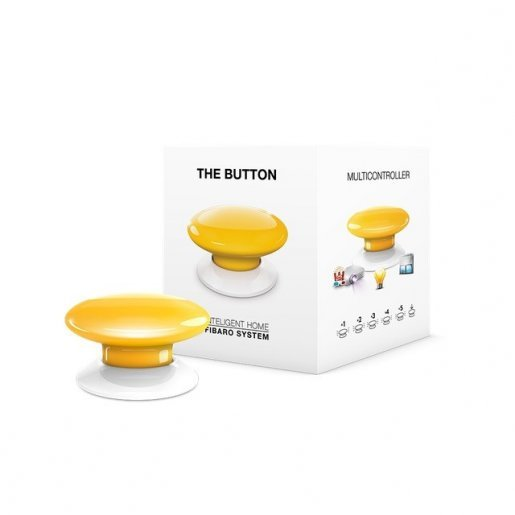 Кнопка управления Z-Wave Fibaro The Button black FGPB-101-2 / FIBEFGPB-101-2 Умный дом Периферия, 1549.00 грн.