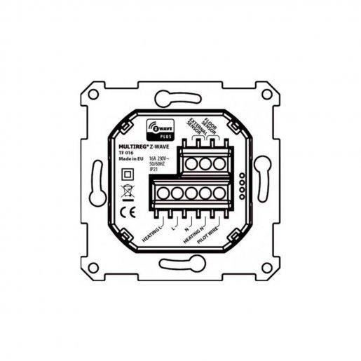 Термостат Z-wave настенный Heatit HEAE5430498-B Умный дом Управление климатом, 4903.00 грн.