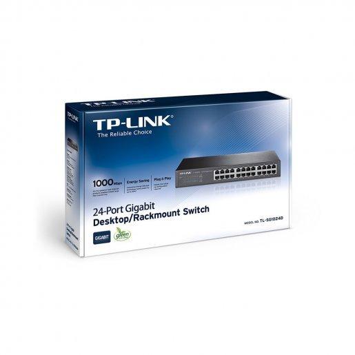Коммутатор TP-Link TL-SG1024D Сетевое оборудование Коммутаторы, 2379.00 грн.