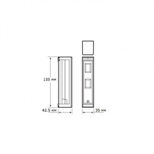 Датчик движения уличный Optex FTN ST Датчики для сигнализации Датчики движения, 2385.00 грн.