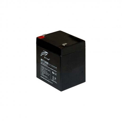 Аккумуляторная батарея RITAR AGM RT1250 black 12V 5.0Ah Комплектующие Аккумуляторы 12В, 385.00 грн.